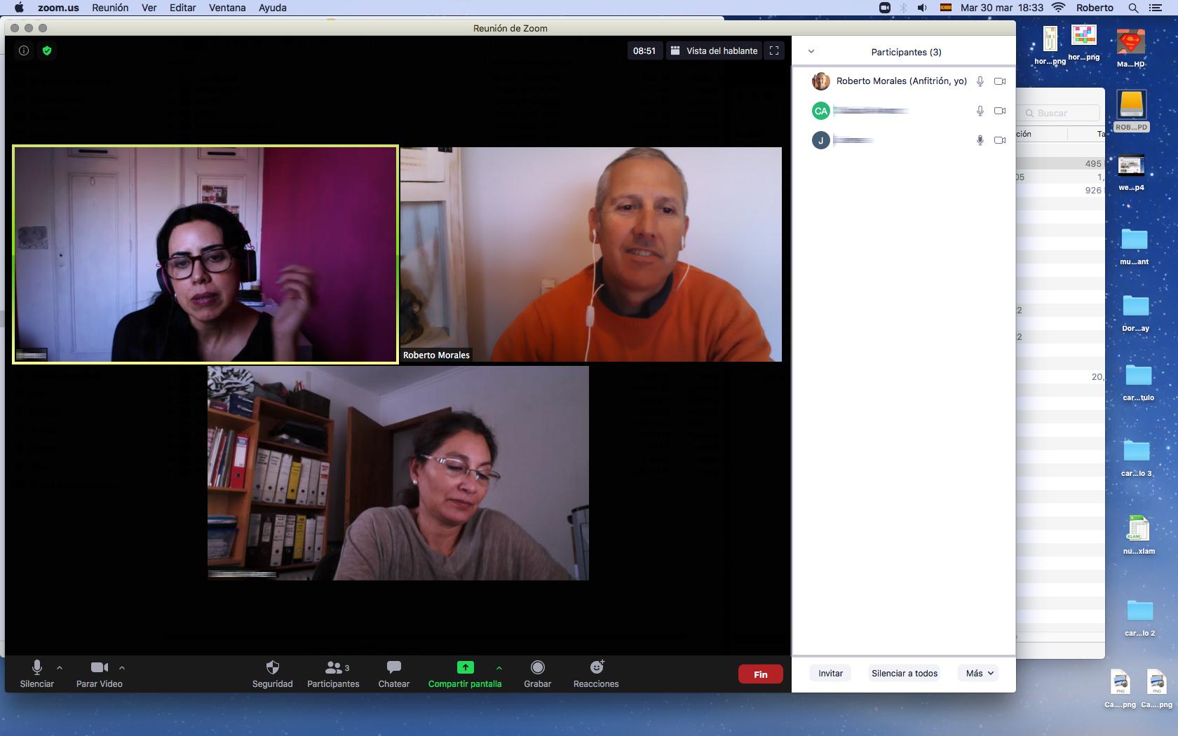 Curso WordPress Modalidad Online Terminado - Abril de 2021 en Neuma Capacita - Prof. Roberto Morales E.