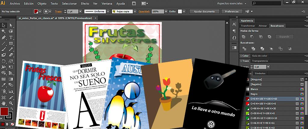 Curso Diseño gráfico e ilustración vectorial con Illustrator en Capacitación Continua UC en el Centro de Extensión UC - Roberto Morales E.