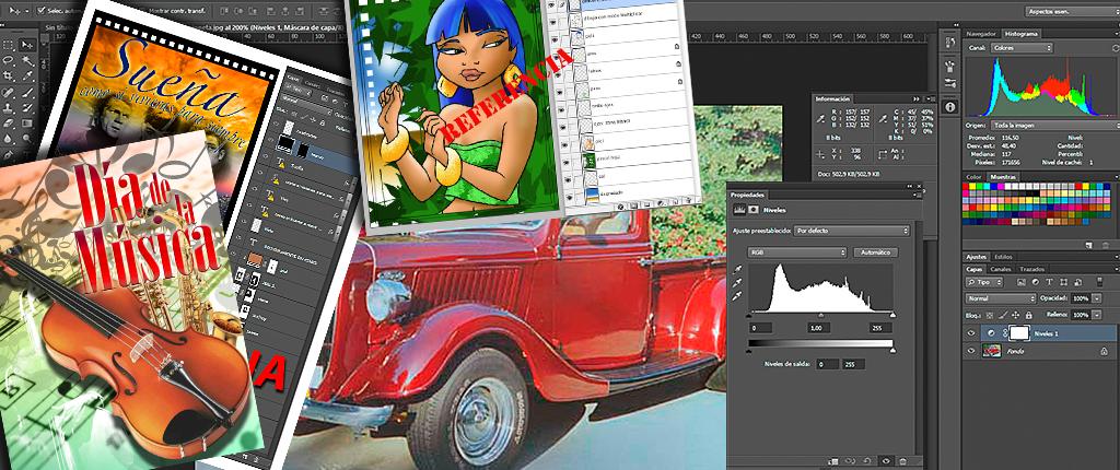 Curso Photoshop terminado en Diciembre 2017 en Capacitación Continua UC